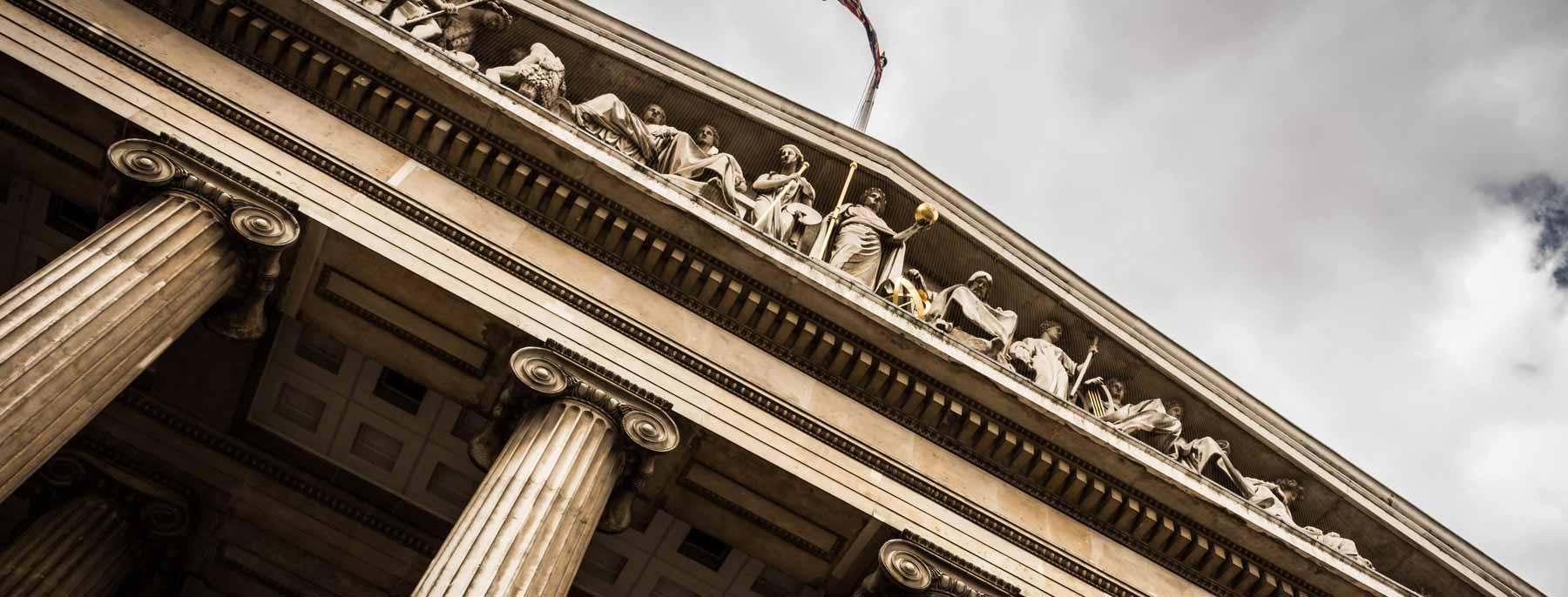 an historic law building exterior detail